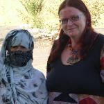 a berber-lady and me