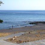 Beach At Palm Bay Pefkos Rhodes