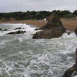 la mer près de l'hotel