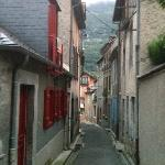 The Luz streets around Hotel Les Templiers.