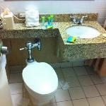 old school bathroom