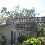The Sandpiper (from the parking lot)