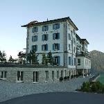 Villa Honegg von der Rückseite