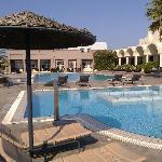 Area piscina e jacuzzi