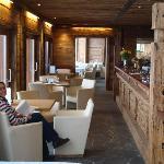 Bar through to restaurant