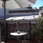 The terrace in room 'Lola'