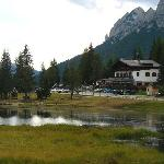 Lo Chalet ed il suo piccolo lago