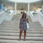 Grand staircase at The Grand Palladium