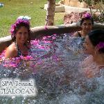 Jacuzzi Floral SPA