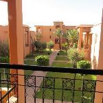 Atlas Targa: construit comme un village, rose-Marrakech