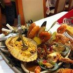 half seafood platter
