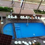 Solo unas pocas habitaciones tienen vistas a la piscina