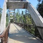 bridge over small gorge