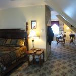 Third floor suite, bedroom