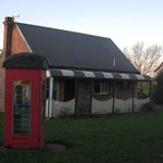 Victoria's Cottage and telephone box
