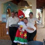 hotel bar staff