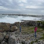 Awesome waves at Hermanus.
