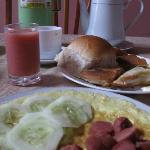 なんだかホッとする朝食