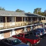 The Court Motel building