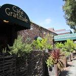 Front of Cafe Gratitude Berkeley