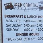 Red Caboose- Clovis, CA