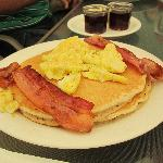 Pancakes-Red Caboose, Clovis, CA