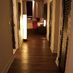 Hallway of Room 110