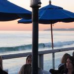 Sunset and Happy hour on the pier