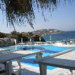 piscina dell'hotel
