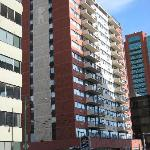 façade, vue depuis la 8è rue