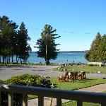View of Little Traverse Bay from Porch of Bayview