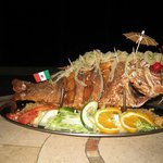 Crispy whole fried snapper for 2 (or 3)
