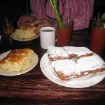Beignets and Buttermilk Biscuits