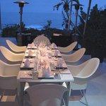 our table at Frangipani / Days At Sea