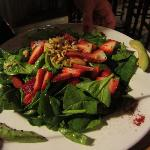 Strawberry Spinach Salad- Delicious!