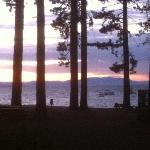 Beautiful sunset, Camp Richardson, South Lake Tahoe