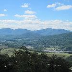 Mount Jefferson, NC Overlook View 1