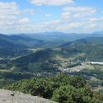 Mount Jefferson, NC Overlook View 3