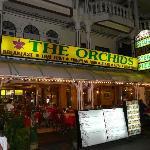 Das Restaurant von außen