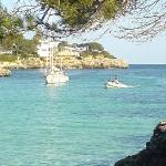 a little bay view at Playa Esmeralda 10min.walk from hotel