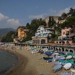 The beach in Levanto