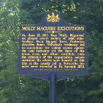 historical marker w/ overview of history