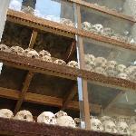 Skull filled Pagoda (tower)