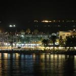 Napa harbour at night
