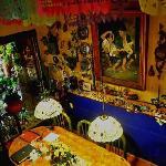 La mesa donde se puede desayunar o tomar un rico te con Pita.