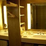 バスルームから独立している洗面台
