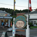 Front sign of TIDES
