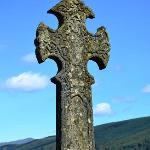 A Celtic Cross by Loch Fyne