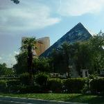 Another outside view of Luxor.  Beautiful!