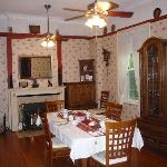 Spacious dining room where breakfast is served